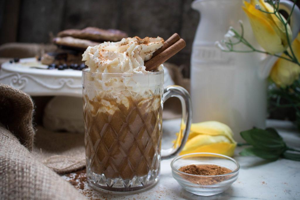 pumpkin spice keto latte