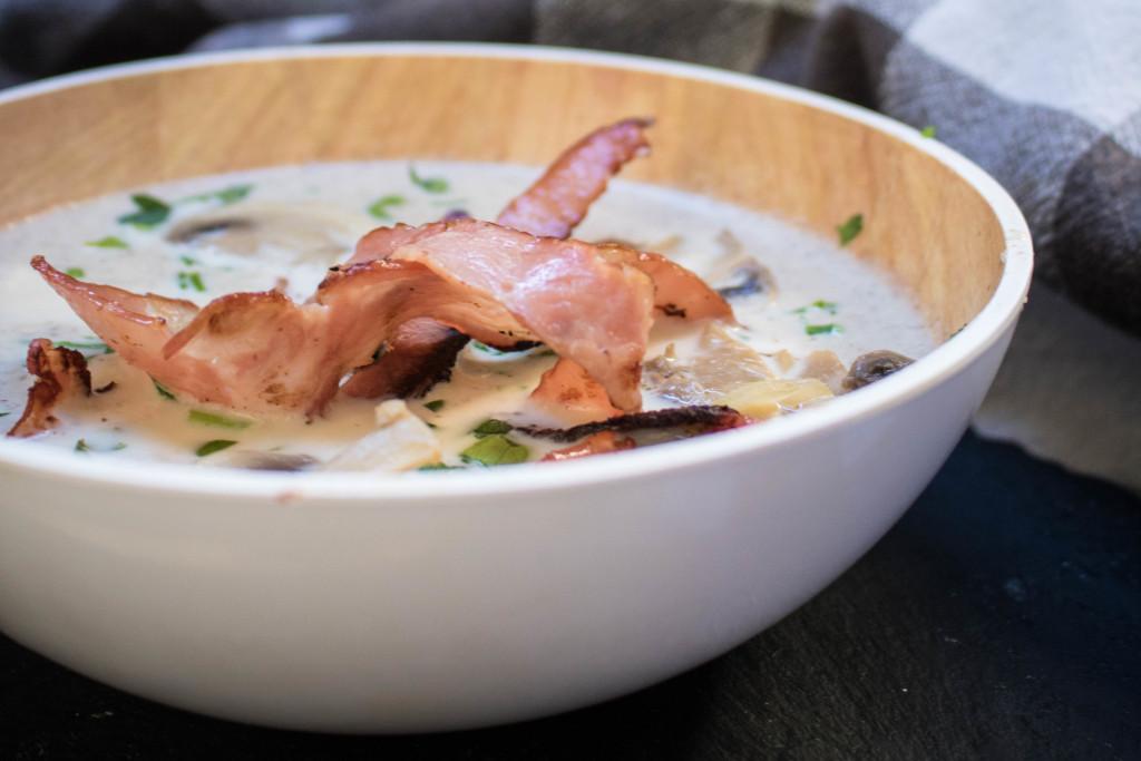keto mushroom soup recipe