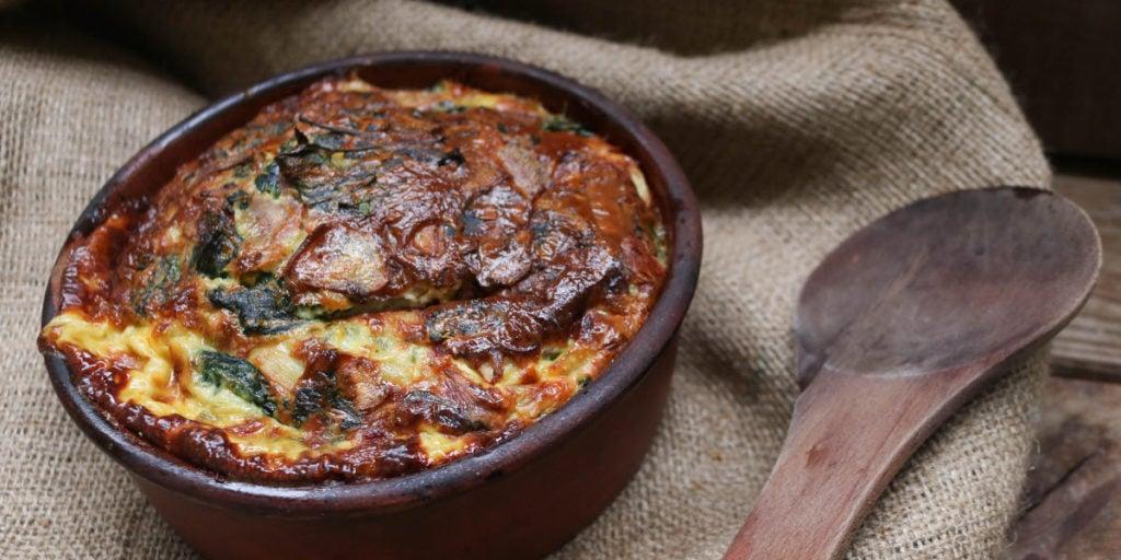 Spinach Bacon Quiche - Keto Recipe